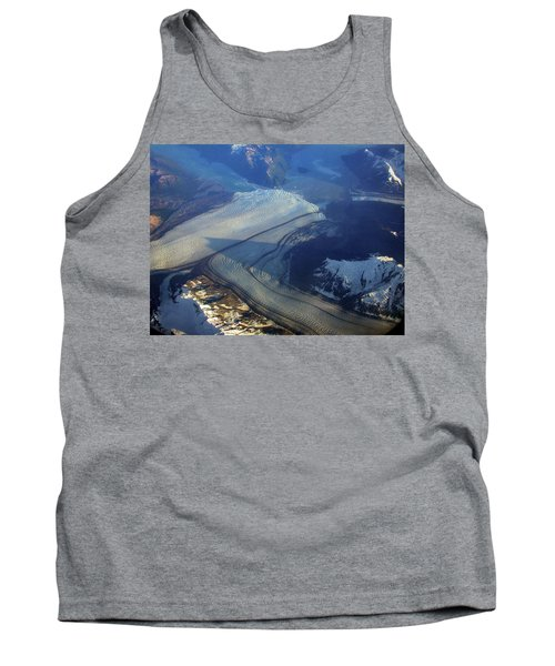 Glaciers Converge Tank Top