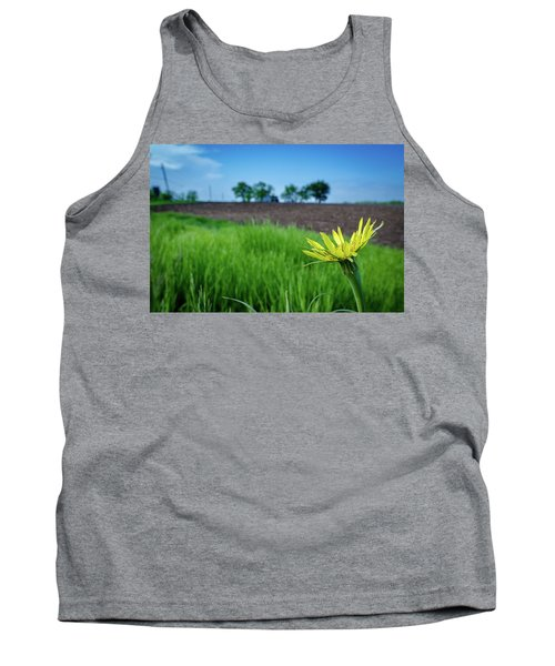 Goat's Beard On Nelson Farm II Tank Top