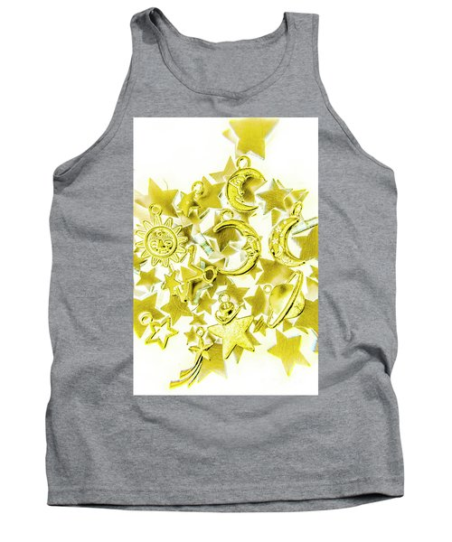 Golden Galaxy Tank Top
