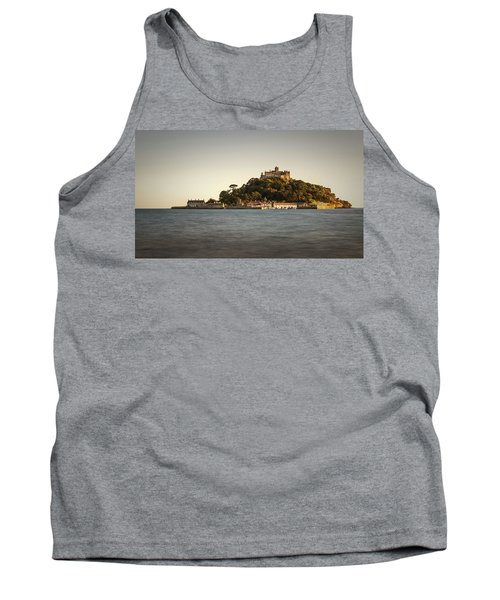 Golden Hour At St Michael's Mount Tank Top