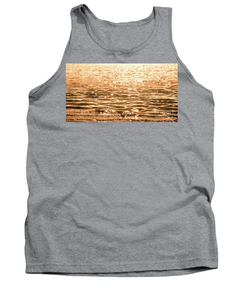 Golden Reflections Tank Top