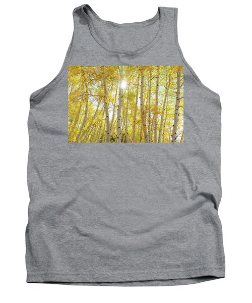 Tank Top featuring the photograph Golden Sunshine On An Autumn Day by James BO Insogna