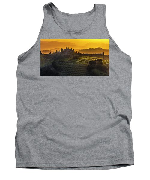 Golden Tuscany Tank Top