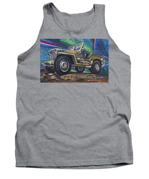 Grandpa Willie's Willys Jeep Tank Top