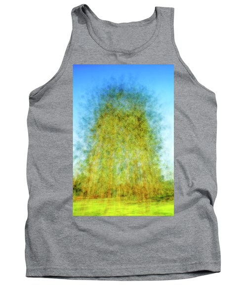 Green Towers Tank Top