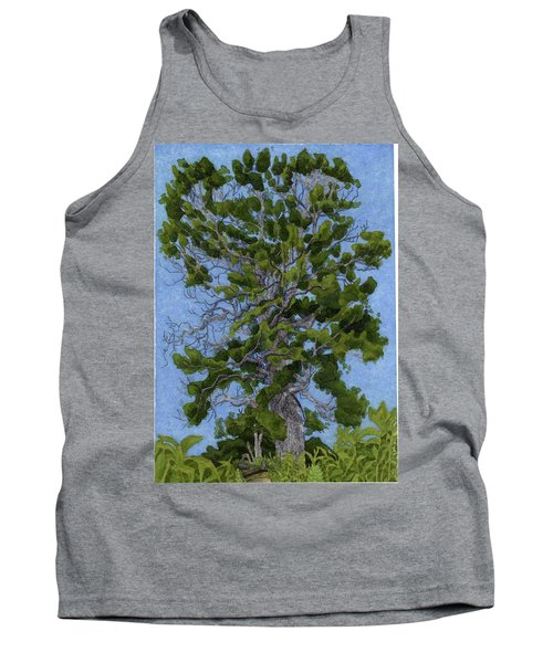 Green Tree, Hot Day Tank Top