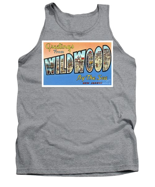 Wildwood Greetings - Version 4 Tank Top