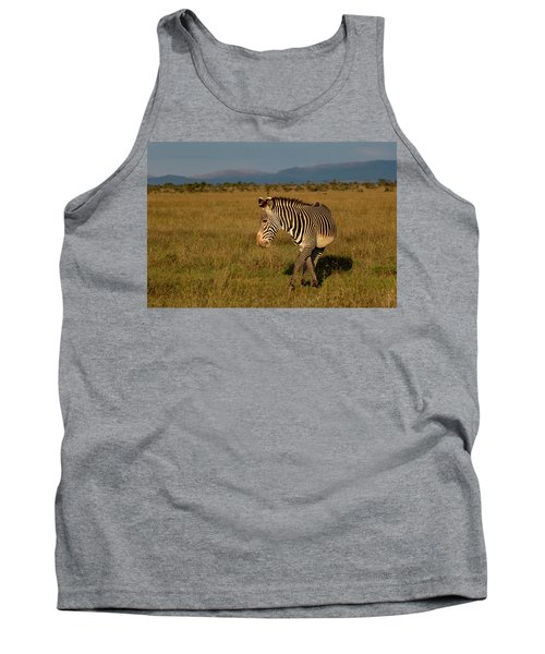 Grevy's Zebra Tank Top