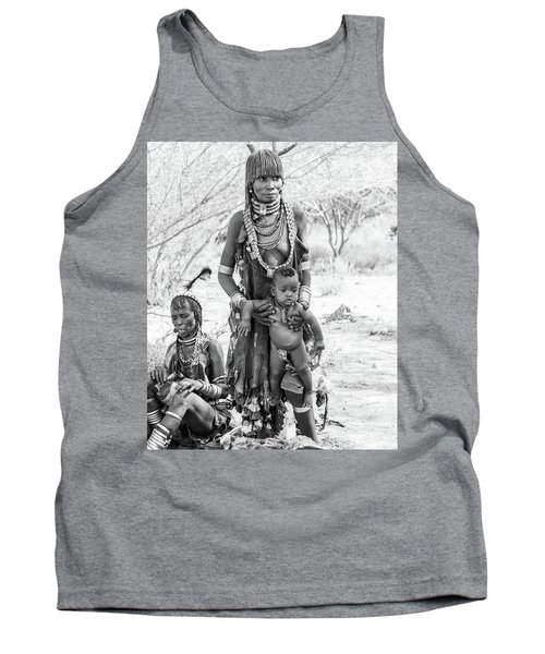 Hammer Women And Child Tank Top