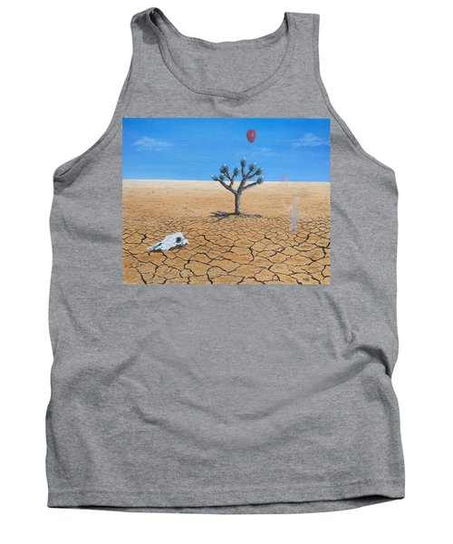 Tank Top featuring the painting Happy Little Tree by Kevin Daly