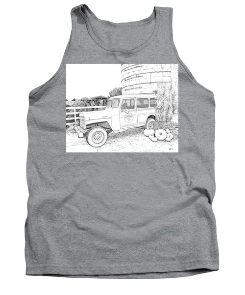Harvest At Magnolia - Ink Tank Top