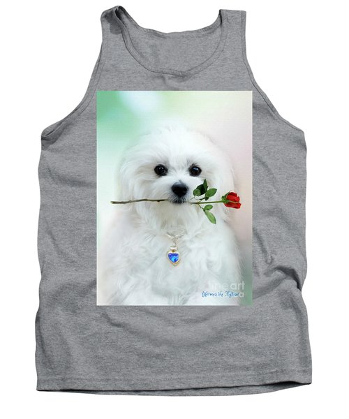 Hermes And Rose Tank Top