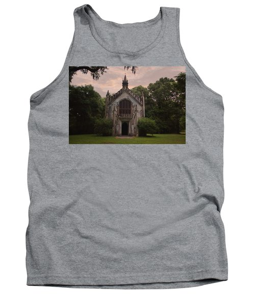 Historic Mississippi Church In The Woods Tank Top