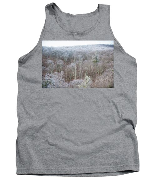 Hoarfrost In The Tree Tops Tank Top