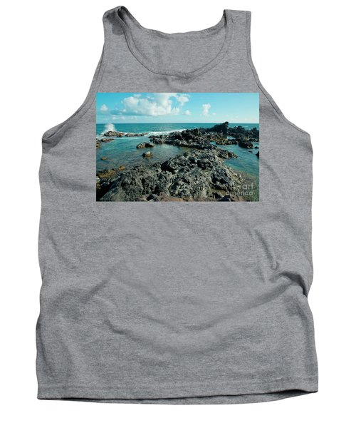 Tank Top featuring the photograph Hookipa Song Of The Sea by Sharon Mau