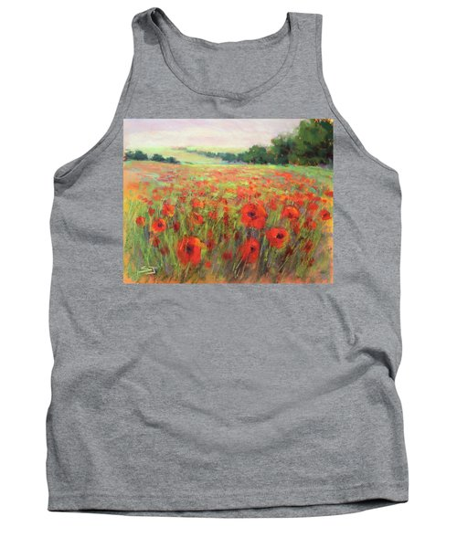 I Dream Of Poppies Tank Top