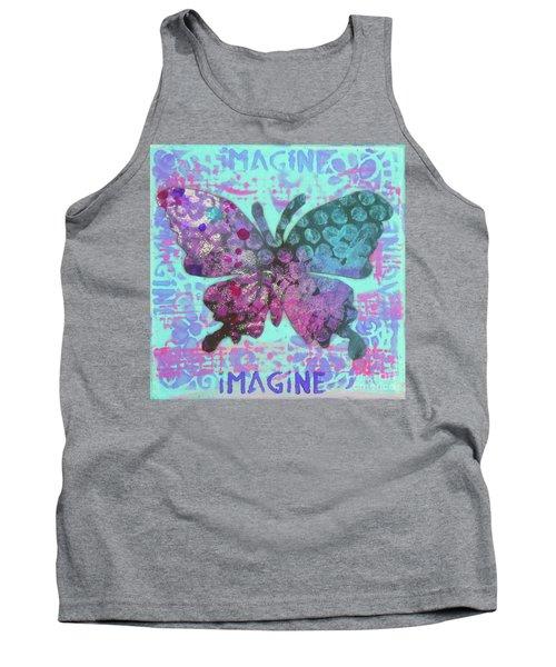Imagine Butterfly 2 Tank Top