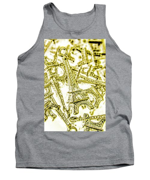 In French Forms Tank Top