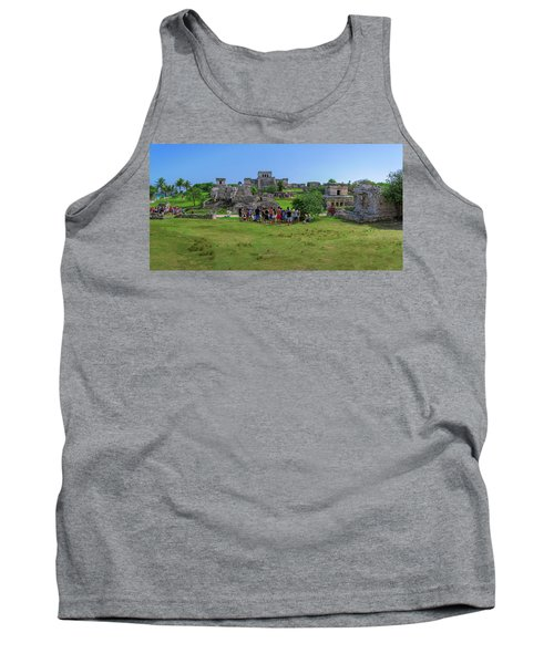 In The Footsteps Of The Maya Tank Top