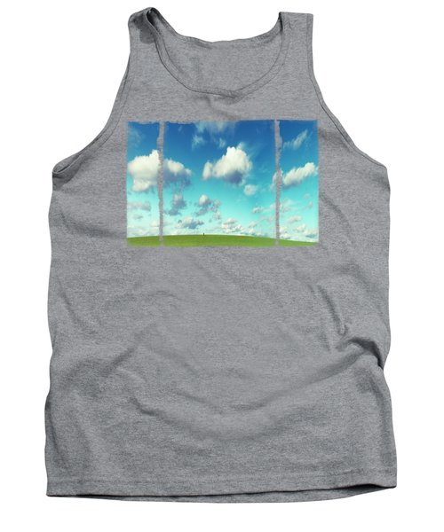 Infinity - Green Land And Summer Sky Tank Top