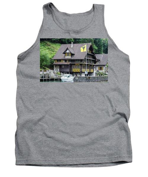 Inn On Lake Lucerne Tank Top