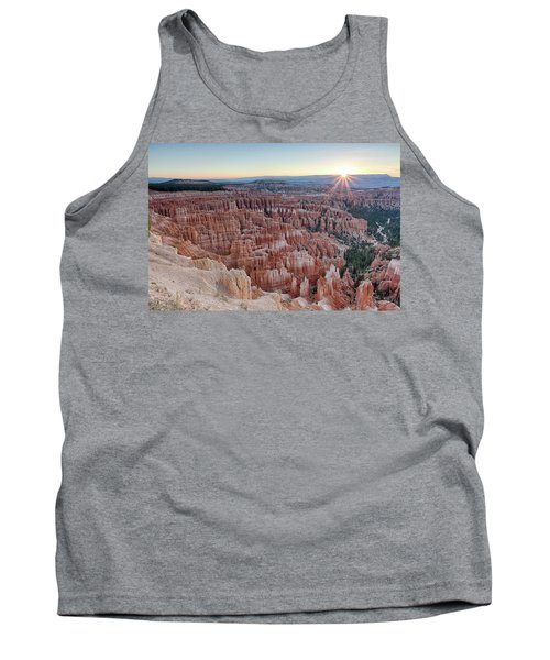Inspiration Point Sunrise Bryce Canyon National Park Summer Solstice Tank Top
