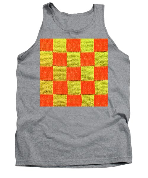 Interlaced Canvas Straps 1 Tank Top