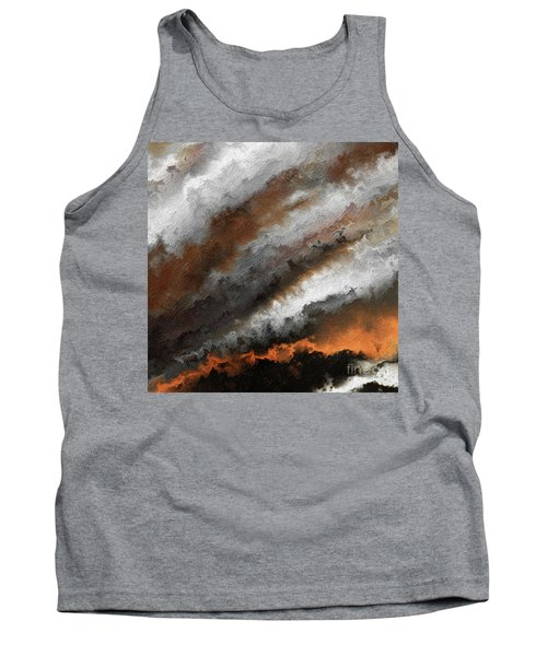 Jeremiah 20 9 Fire In My Heart Tank Top