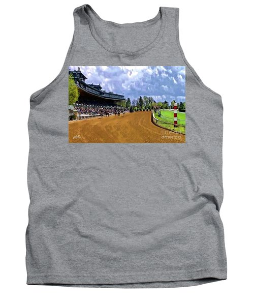 Keeneland The Stretch Tank Top