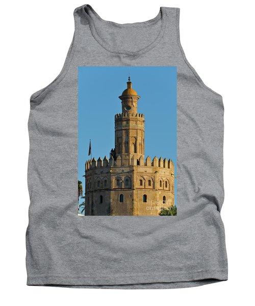 La Torre De Oro Detail. Seville Tank Top