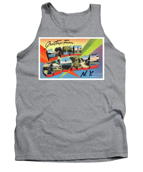 Lake George Greetings Tank Top