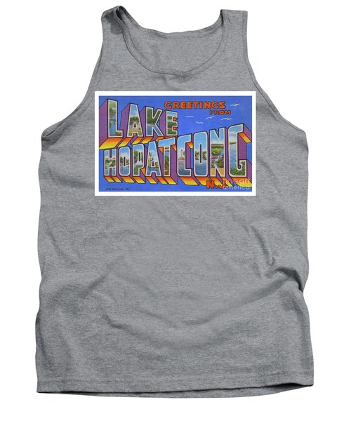 Lake Hopatcong Greetings Tank Top