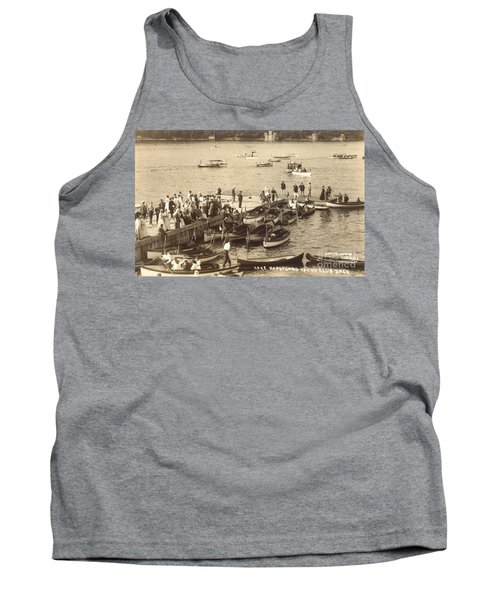 Lake Hopatcong Yacht Club Dock - 1910 Tank Top