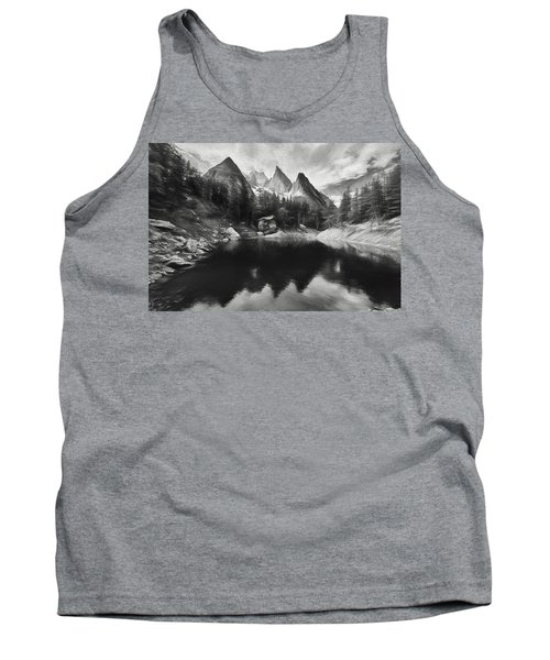 Lake Verde In The Alps IIi Tank Top