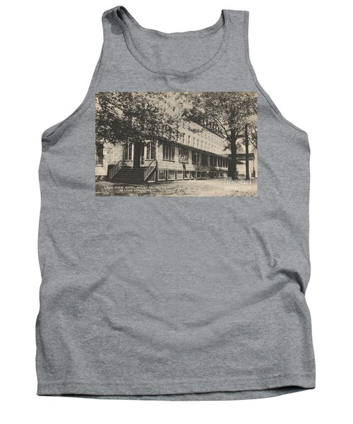 Lake View Hotel On Lake Hopatcong Tank Top