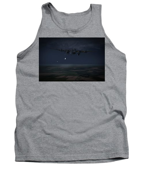 Tank Top featuring the photograph Lancaster Baleout by Gary Eason