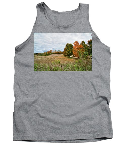 Landscape In The Fall Tank Top
