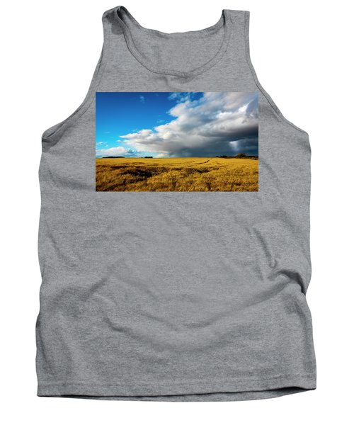 Late Summer Storm With Tornado Tank Top