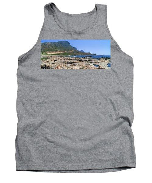 Lava Rocks Of Balos Tank Top