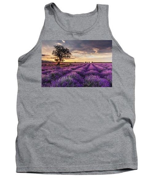 Lavender Sunrise Tank Top