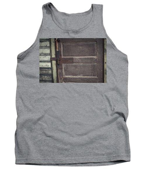 Leather Door Tank Top