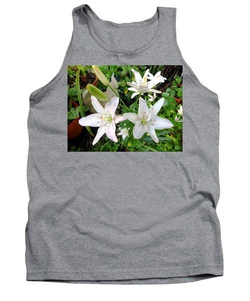 Lily White Tank Top