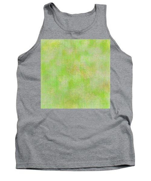 Lime Batik Print Tank Top