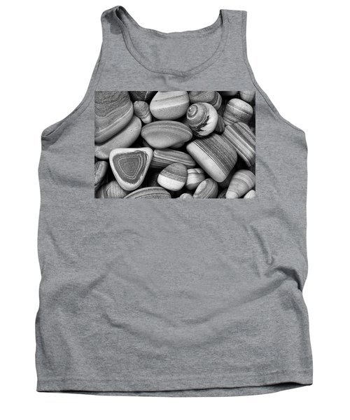 Lined Rocks And Shell Tank Top
