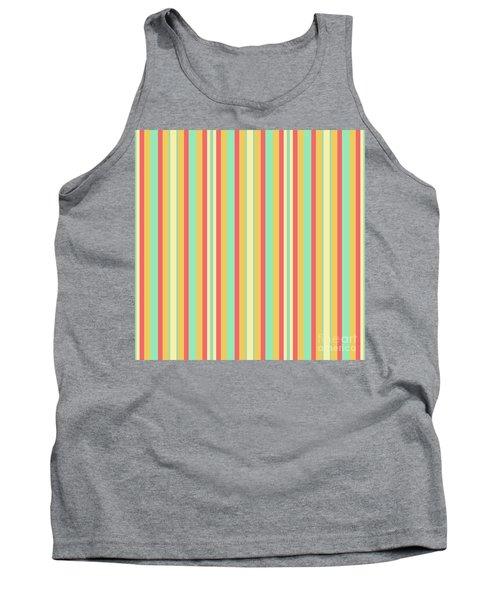 Lines Or Stripes Vintage Or Retro Color Background - Dde589 Tank Top
