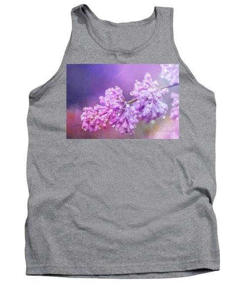 The Magic Of Lilacs In The Rain Tank Top