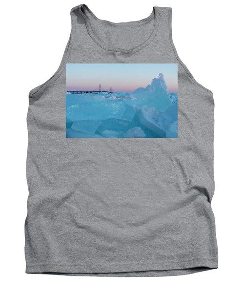 Mackinac Bridge In Ice 2161805 Tank Top