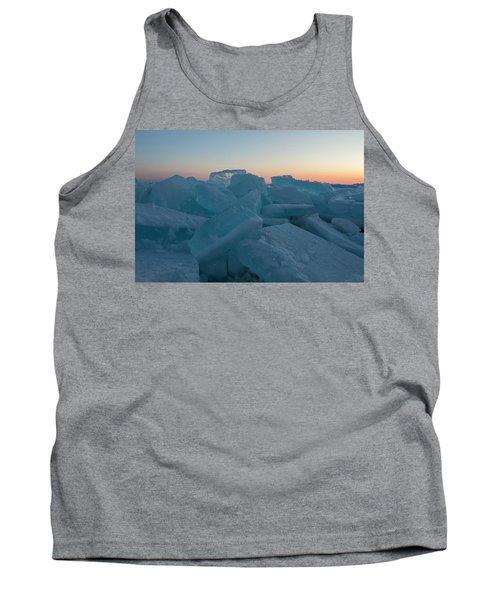 Mackinaw City Ice Formations 2161808 Tank Top