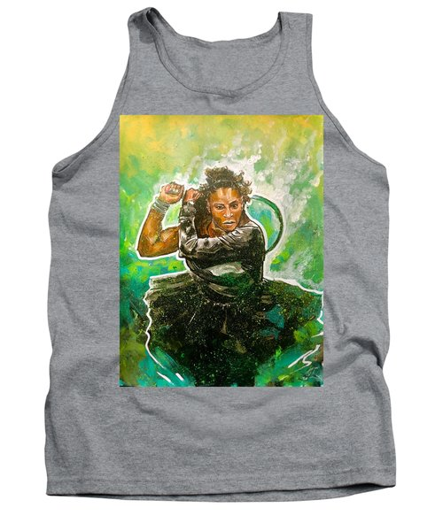 Tank Top featuring the painting Mama Said Knock You Out by Joel Tesch