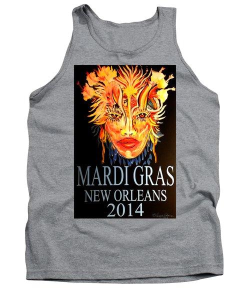 Mardi Gras Lady Tank Top